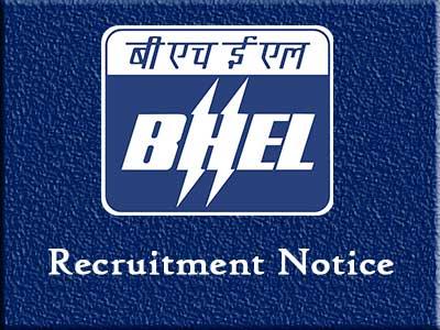 BHEL 305 Apprentice Jobs - Recruitment Notification & Application Link 2019 -2020