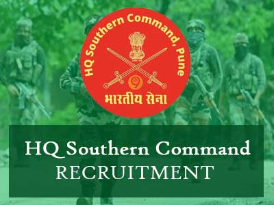 Indian Army HQ Southern Command LDC, Steno & other Group - C Post Job Recruitment Notification, Link & other details