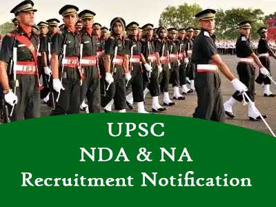 UPSC NDA & Naval Academy (NA-1) Recruitment Notification 2020 - 418 Job Vacancies Details